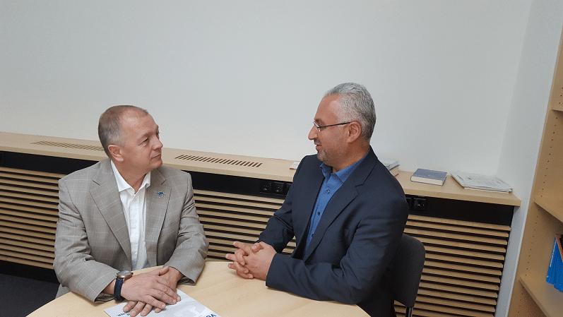 Integrationspolitischer Sprecher der SPD Berlin im Austausch mit Herrn Kiper - SPD berlin Lehmann vge kiper