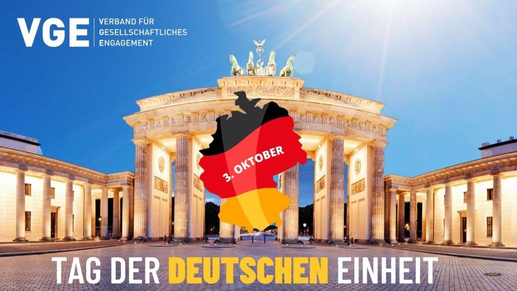 Tag der Deutschen Einheit - tag der deutschen einheit VGE
